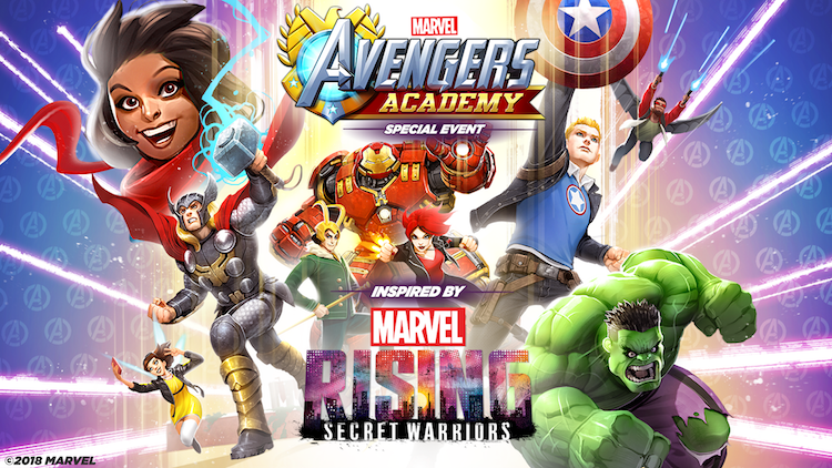 Marvel Avengers Academy - Marvel Rising Event