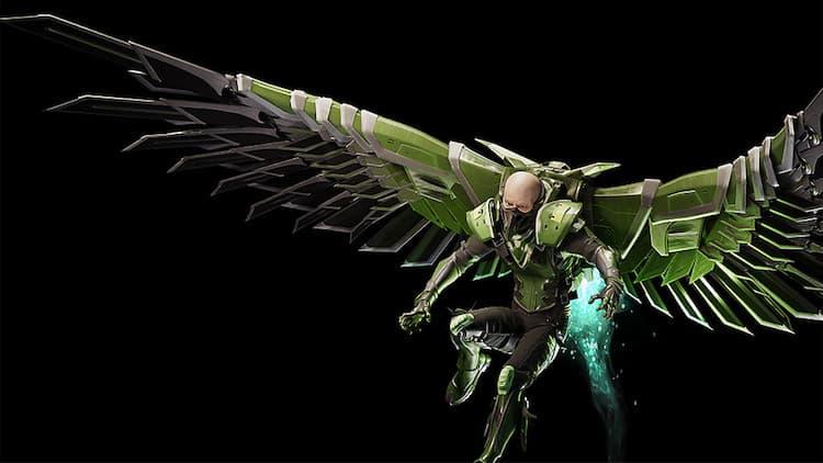 Marvel's Spider-Man PS4 Game Villain: Vulture