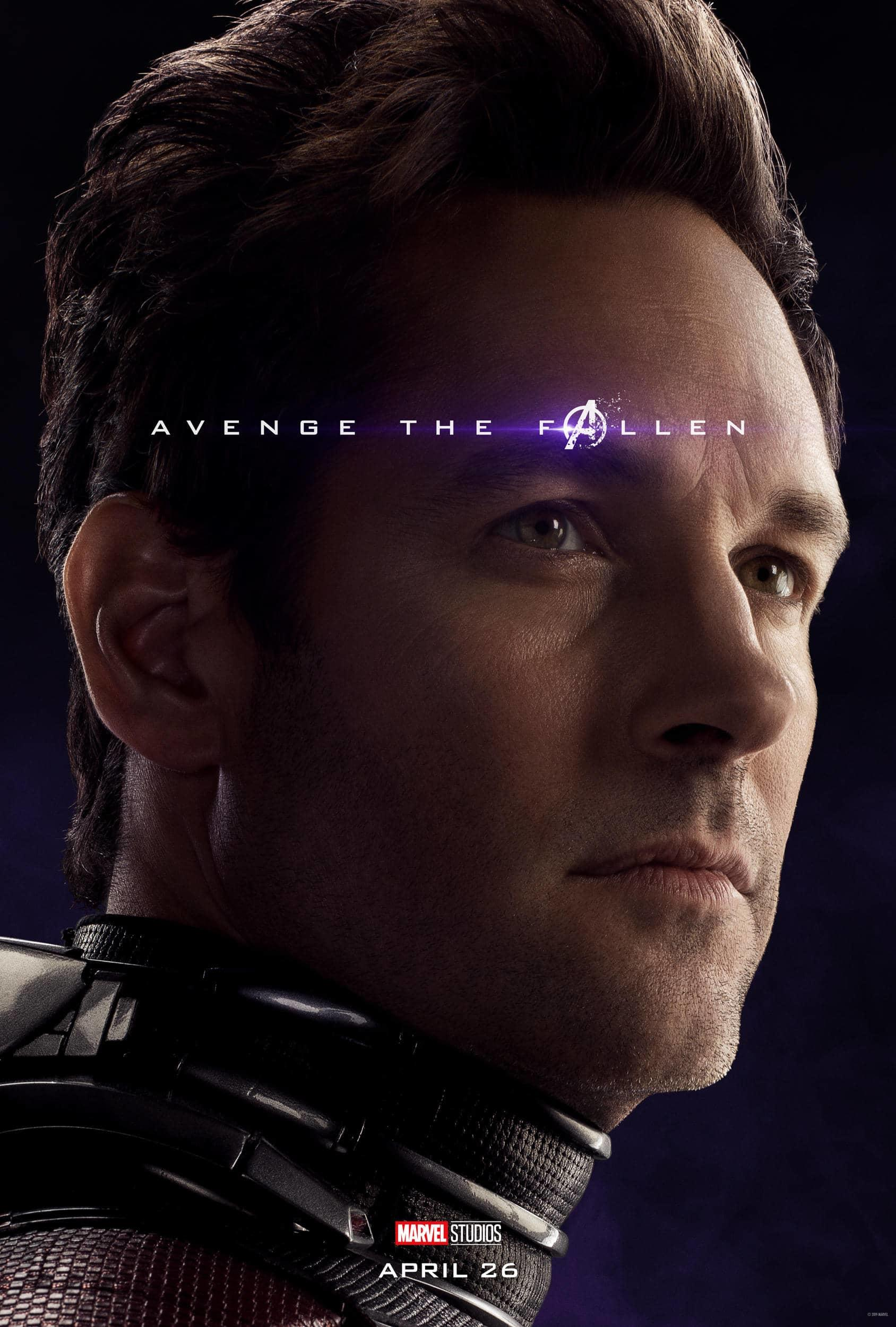 Marvel Studios' Avengers: Endgame Movie Cast Ant-Man (Scott Lang) Paul Rudd