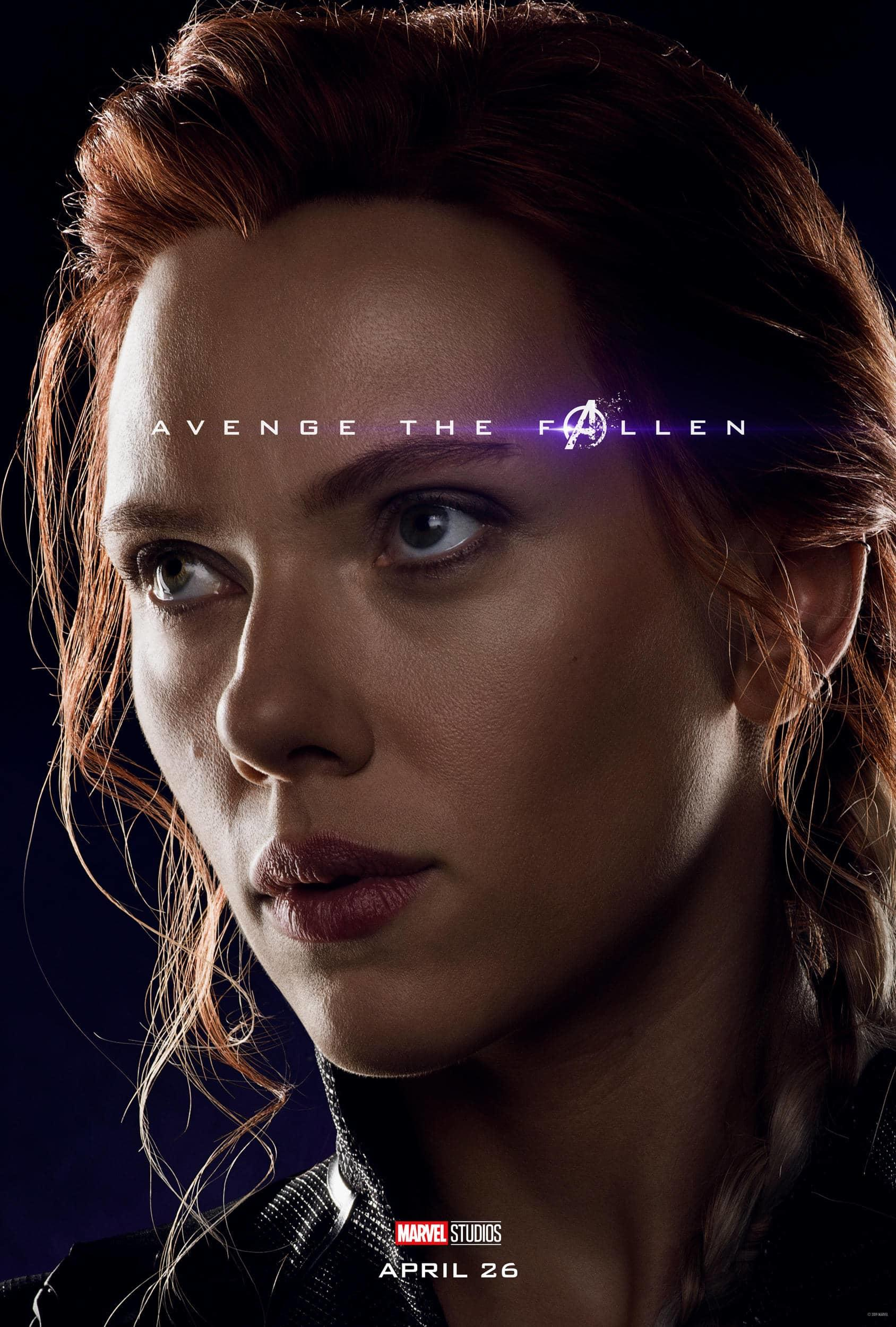 Marvel Studios' Avengers: Endgame Movie Cast Black Widow (Natasha Romanoff) Scarlett Johansson