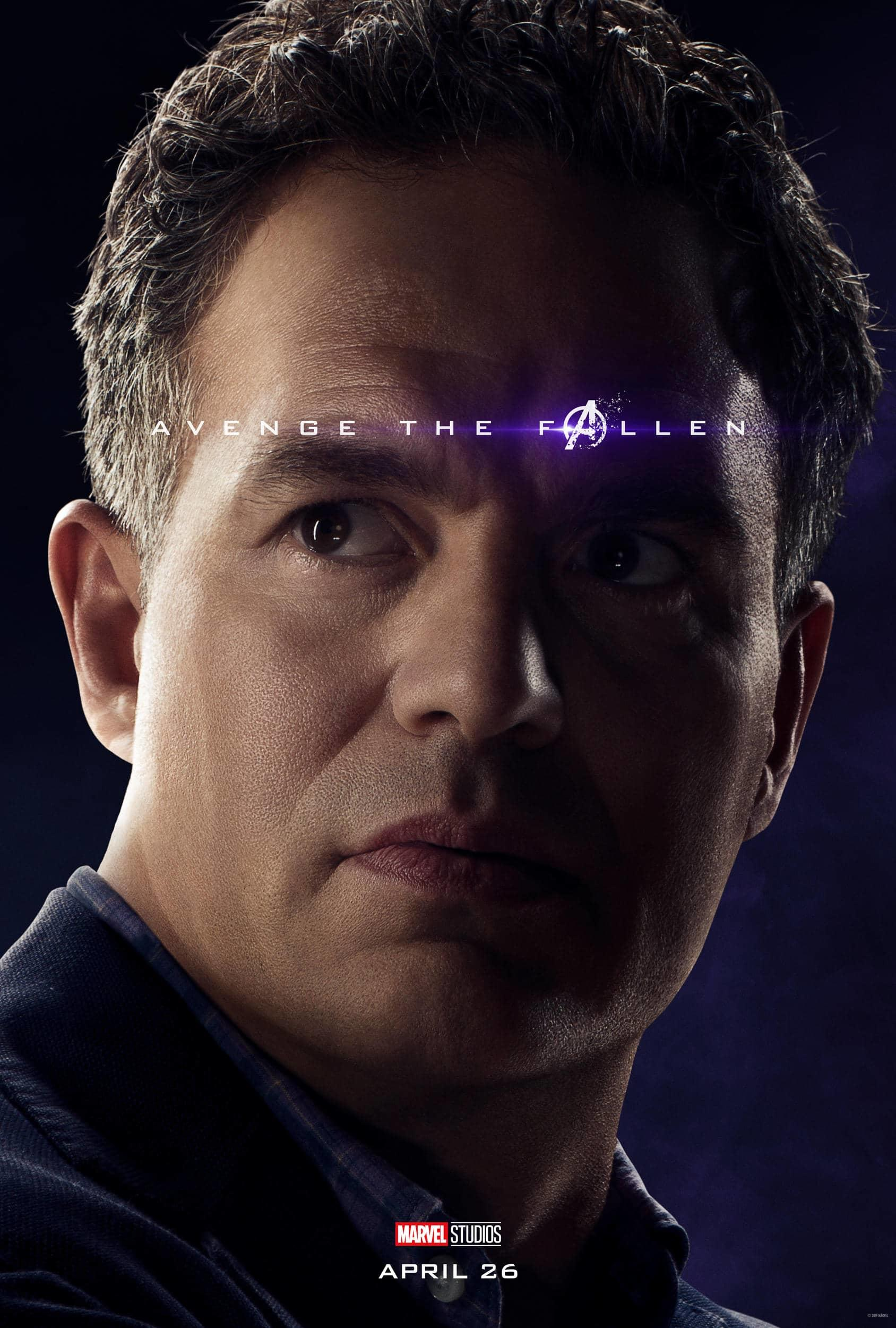 Marvel Studios' Avengers: Endgame Movie Cast Hulk (Bruce Banner) Mark Ruffalo