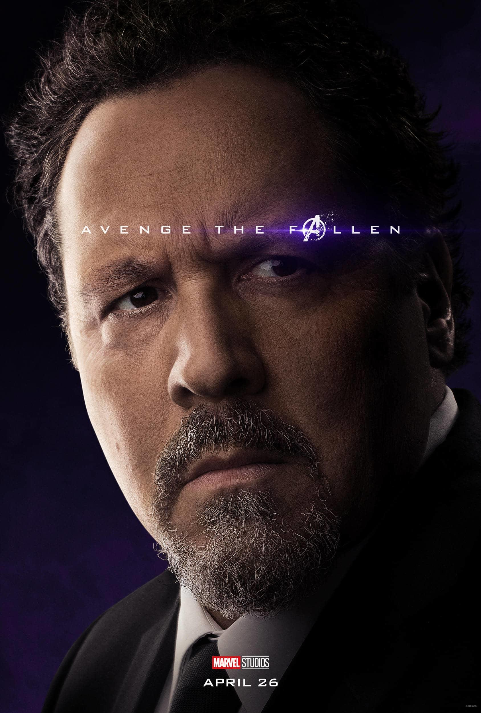 Marvel Studios' Avengers: Endgame Movie Cast Happy Hogan Jon Favreau