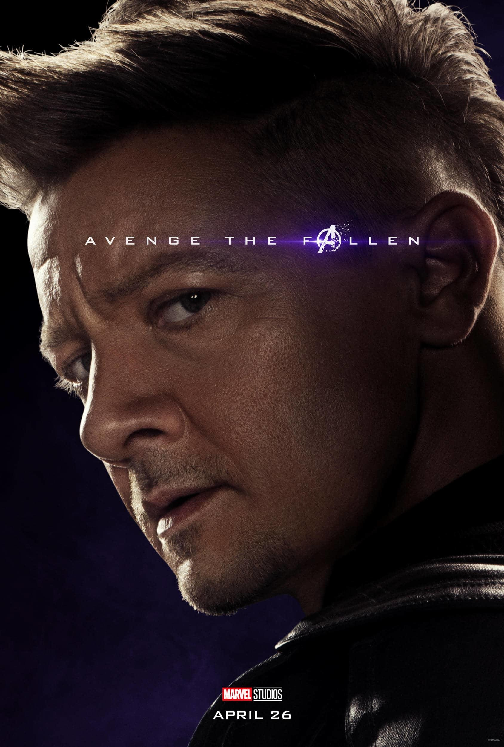 Marvel Studios' Avengers: Endgame Movie Cast Hawkeye (Clint Barton) Jeremy Renner