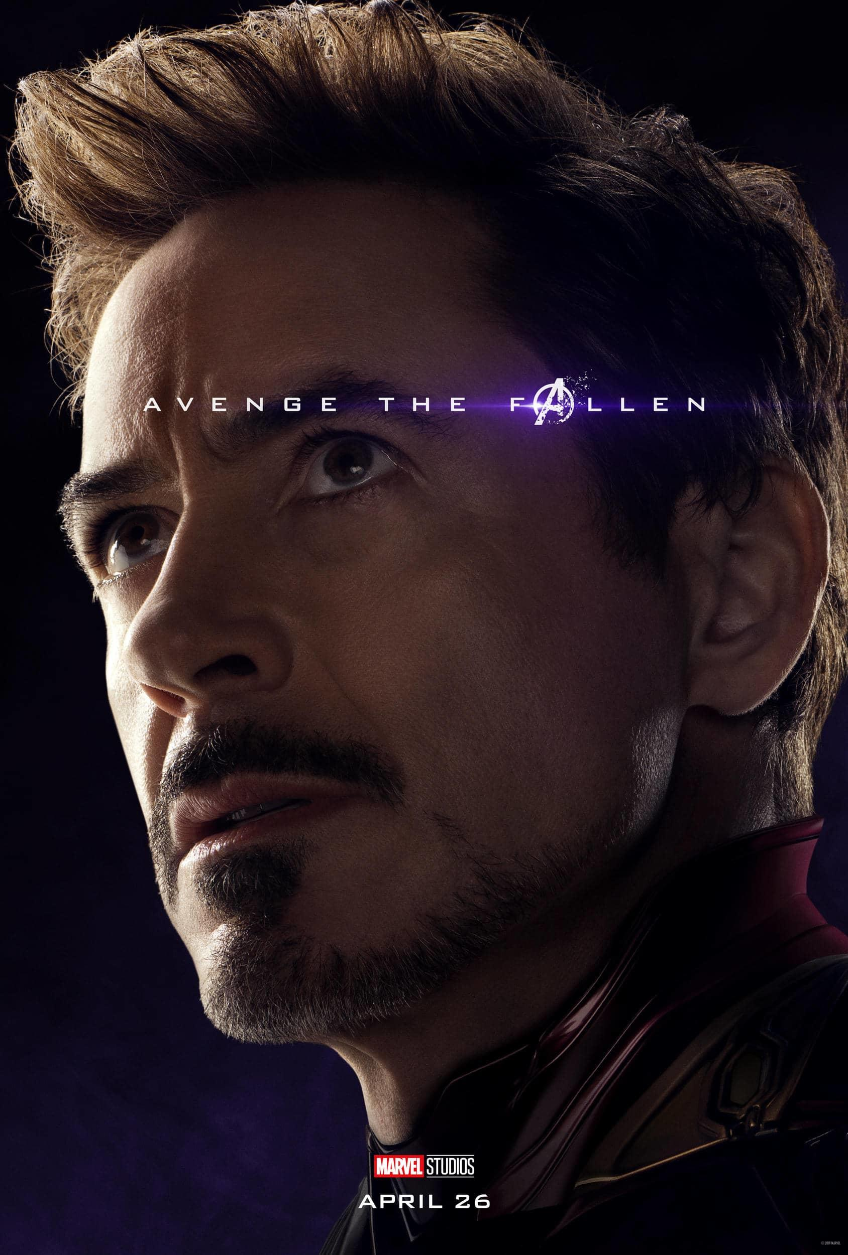 Marvel Studios' Avengers: Endgame Movie Cast Iron Man (Tony Stark) Robert Downey Jr.
