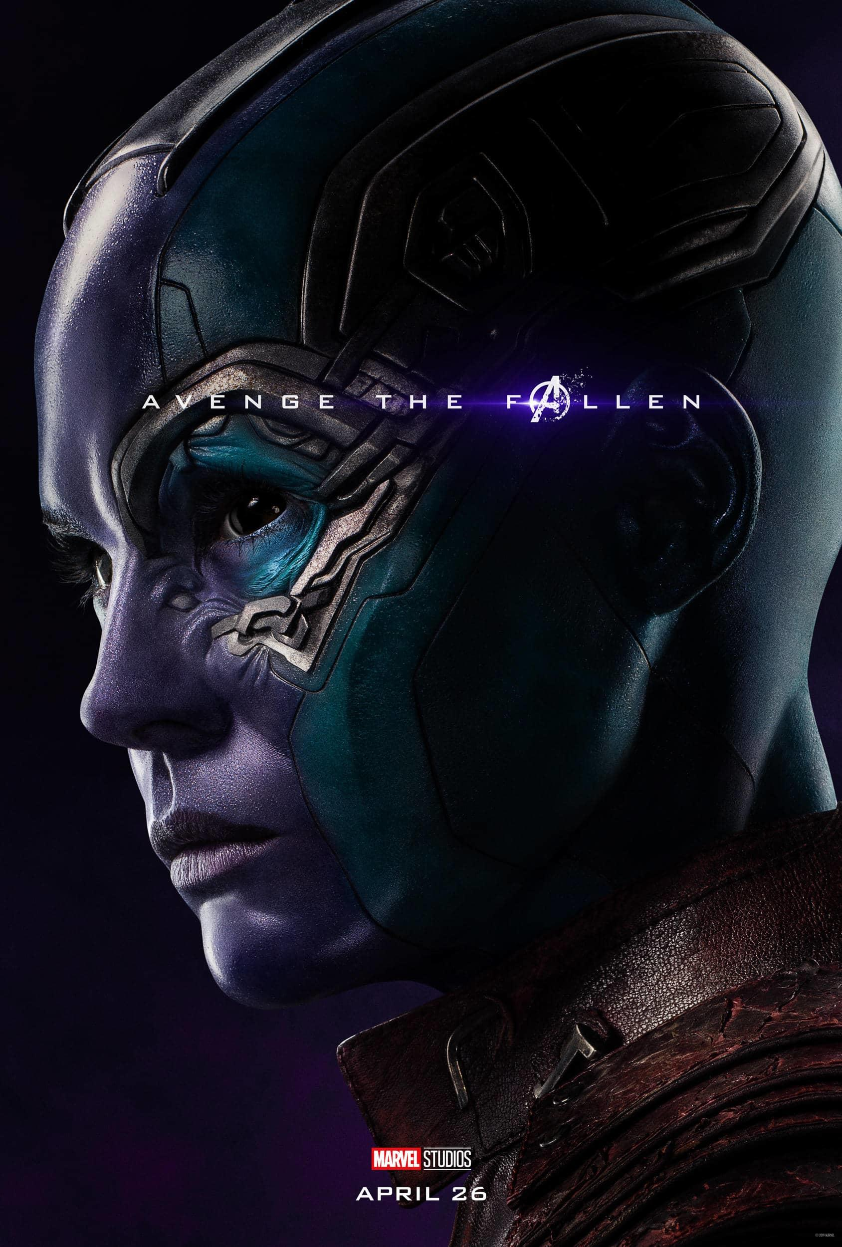 Marvel Studios' Avengers: Endgame Movie Cast Nebula Karen Gillan