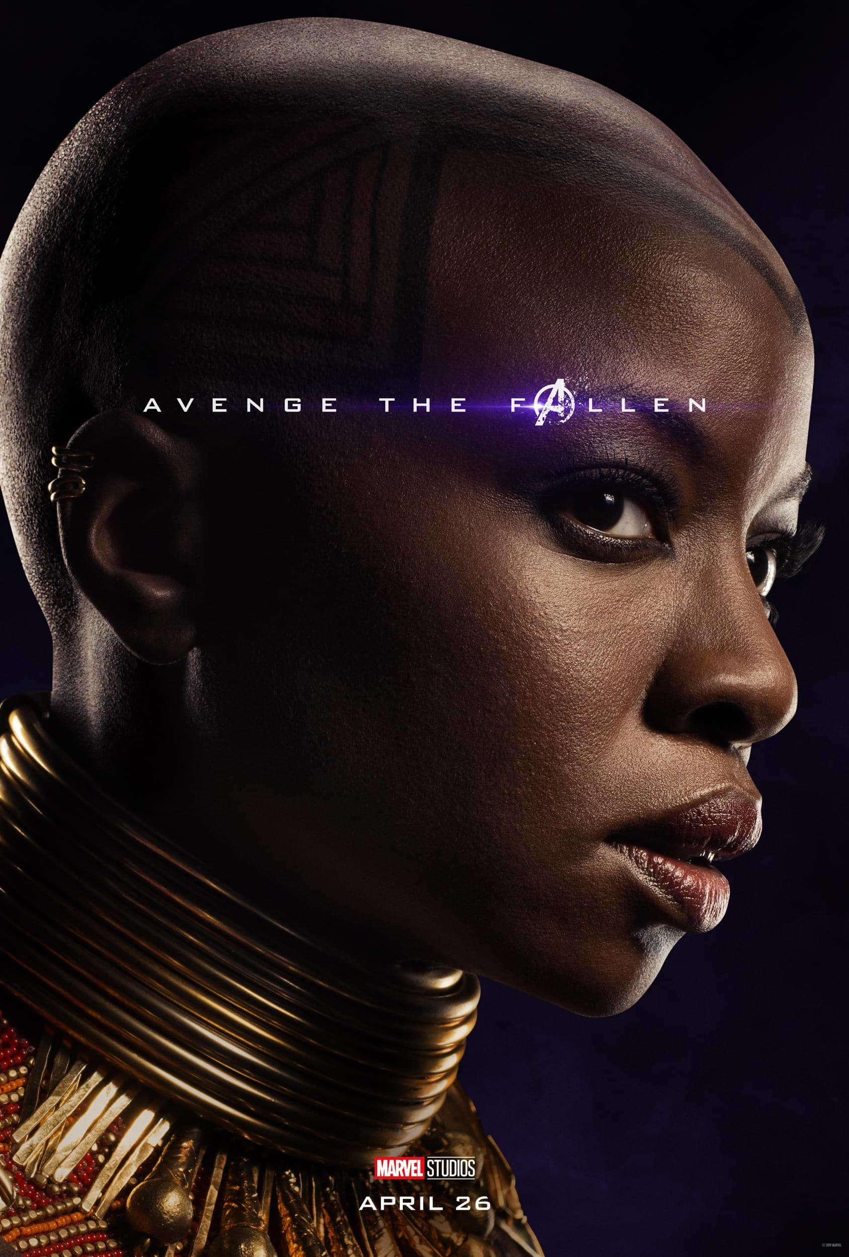 Marvel Studios' Avengers: Endgame Movie Cast Okoye Danai Gurira