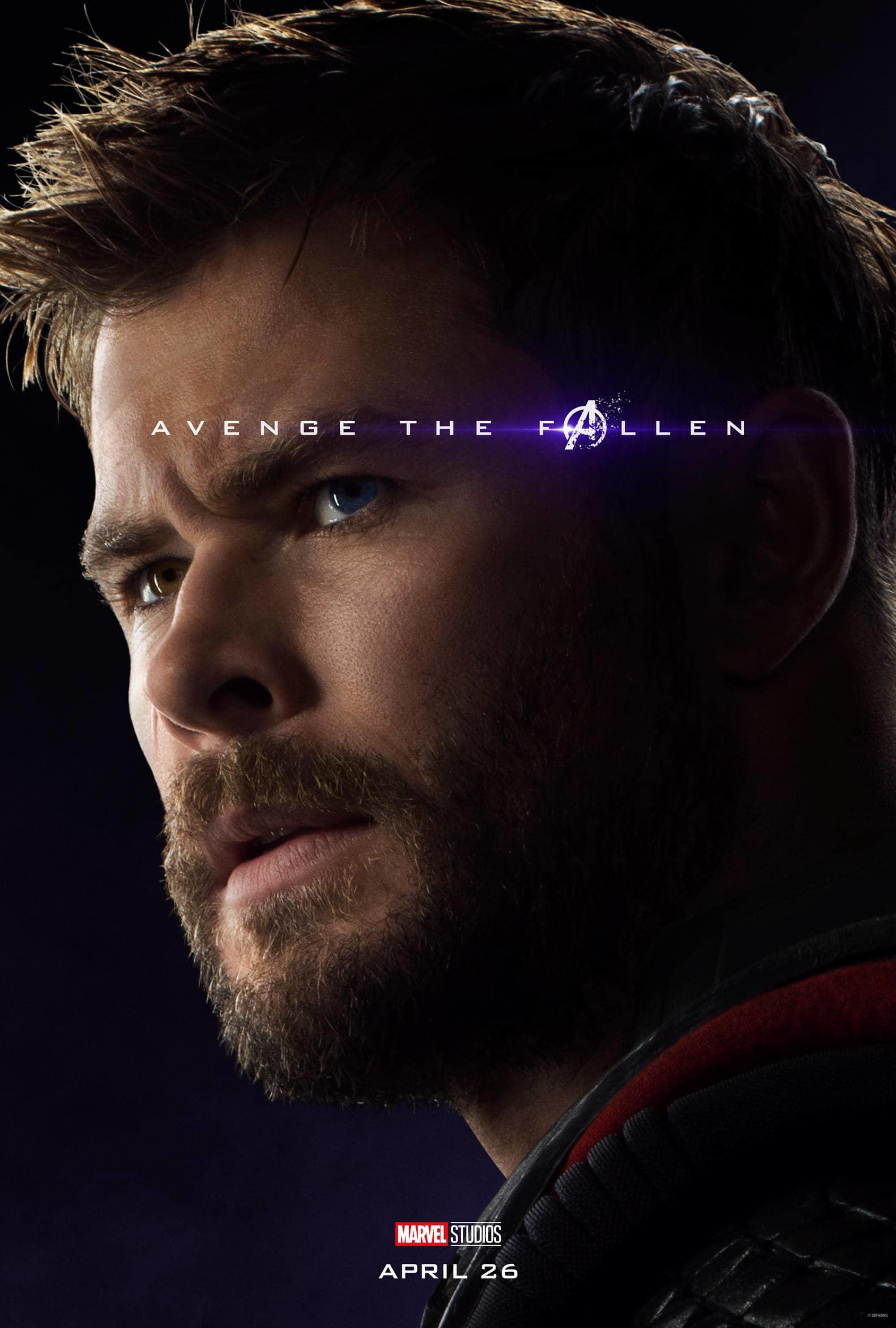 Marvel Studios' Avengers: Endgame Movie Cast Thor Chris Hemsworth