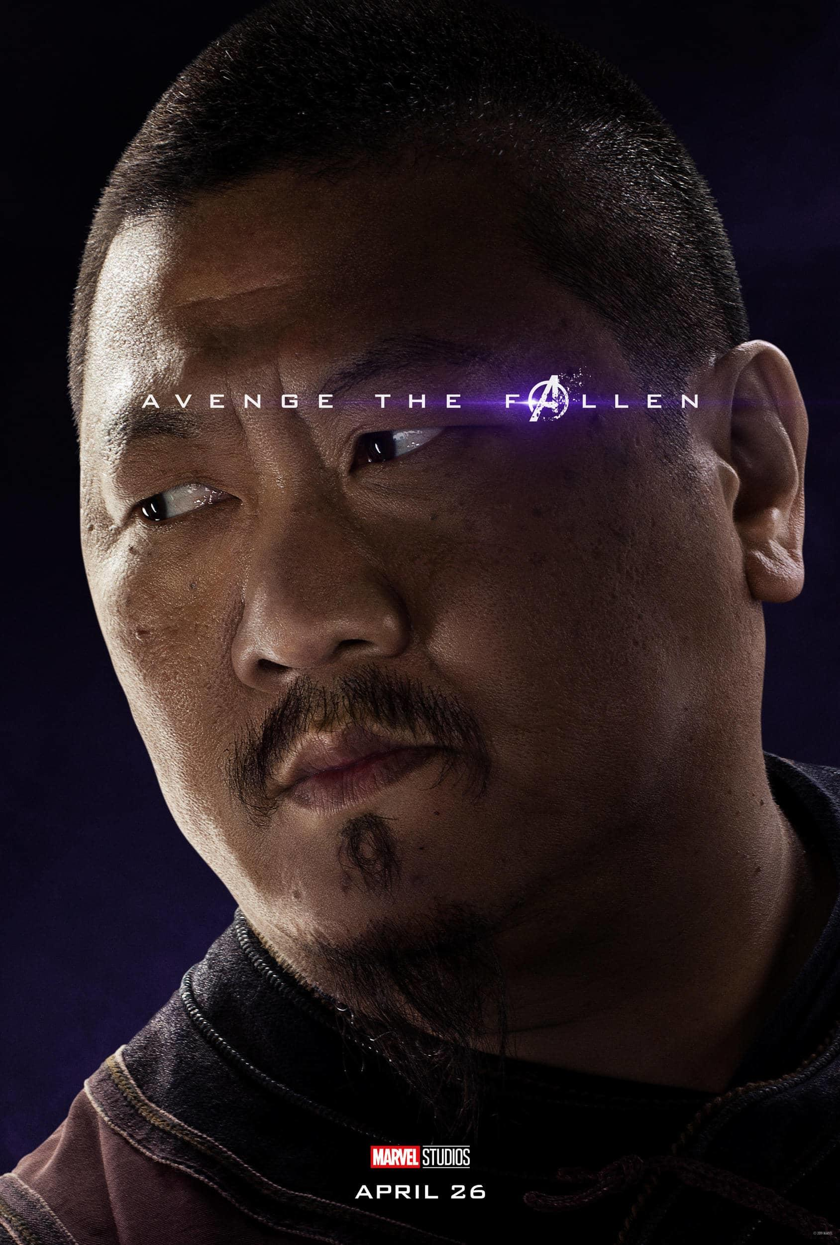Marvel Studios' Avengers: Endgame Movie Cast Wong Benedict Wong