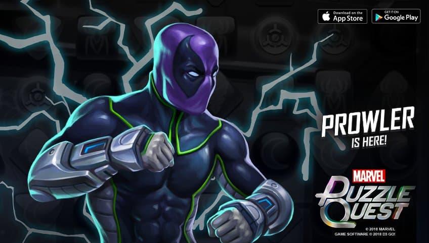 Marvel Puzzle Quest - Prowler