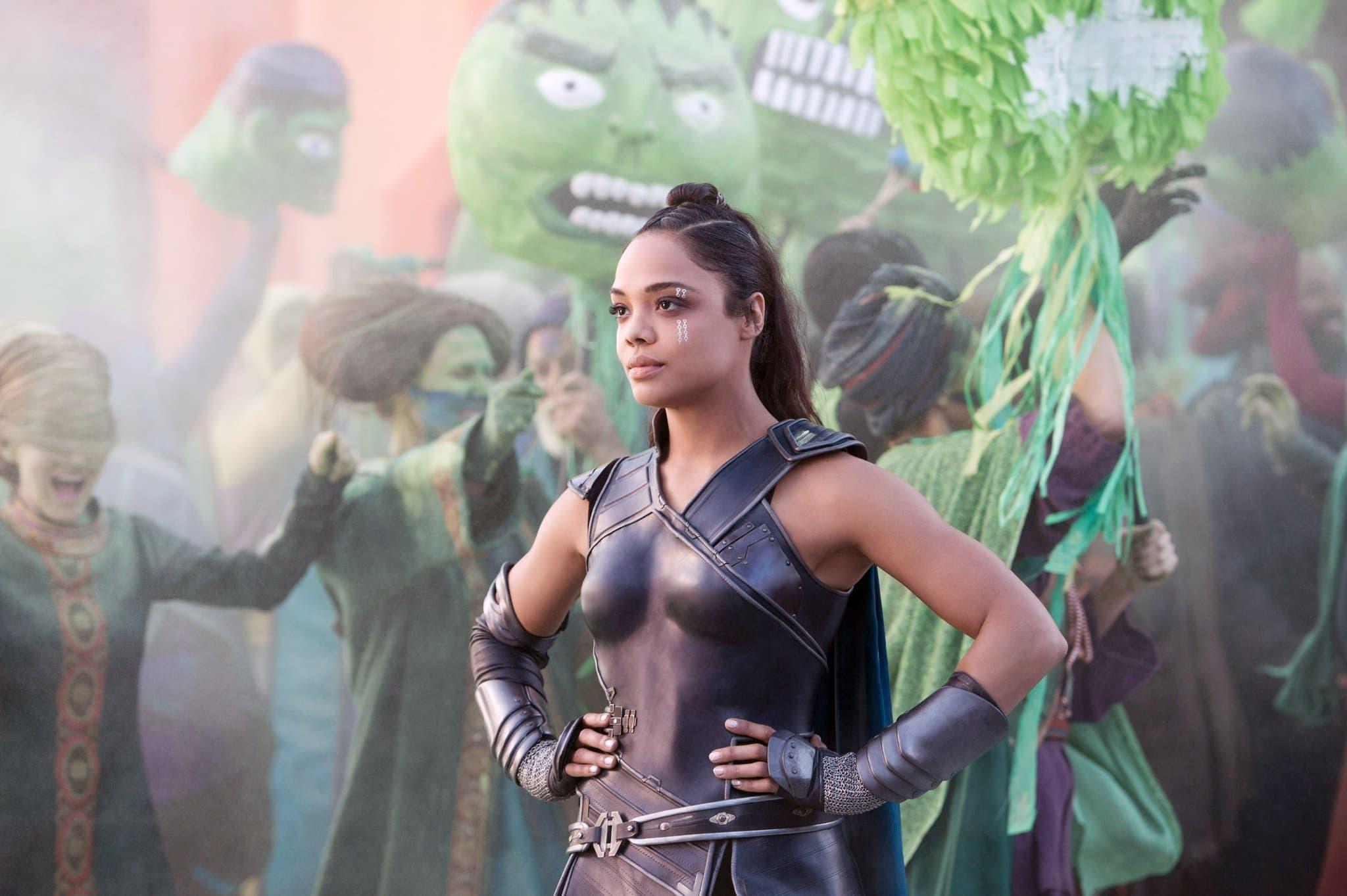 Thor: Ragnarok - Valkyrie at Sakaar Champion Parade