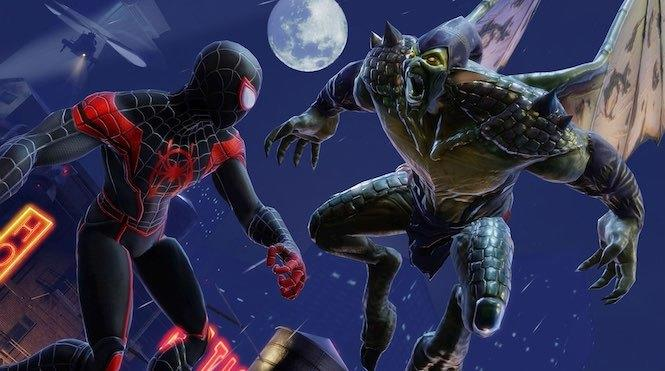 Marvel Strike Force: Spider-Man (Miles Morales) and Green Goblin