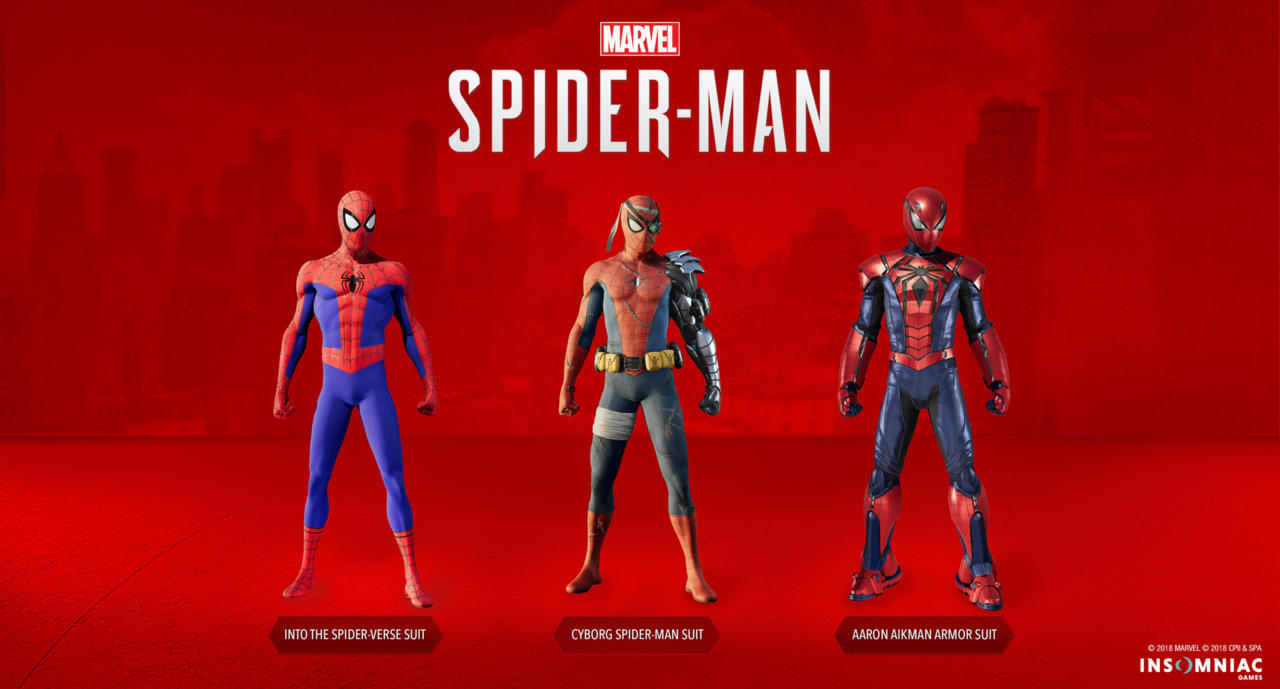 Marvel's Spider-Man: Silver Lining New Suits