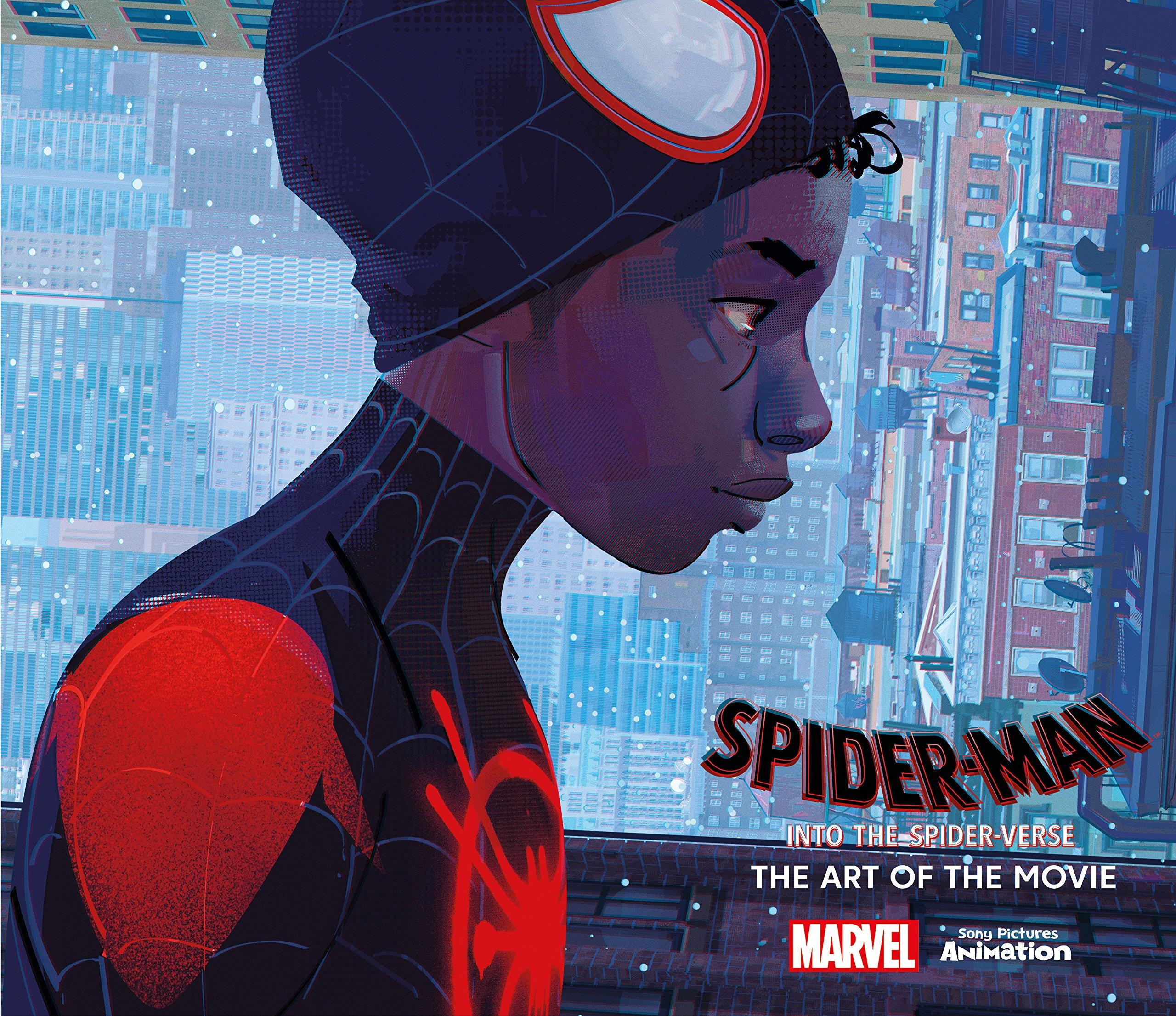 """Spider-Man: Into the Spider-Verse"" Art of the Movie Hardcover"