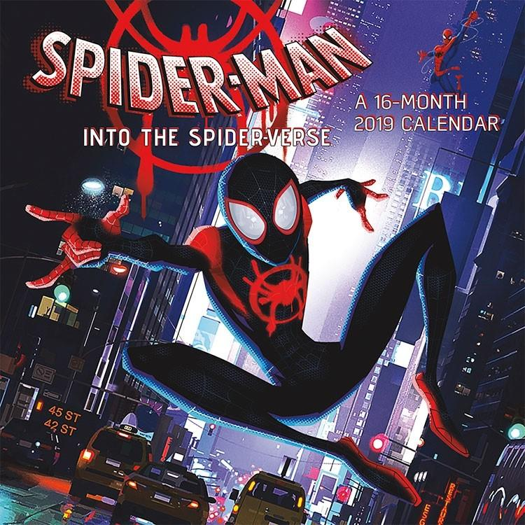 """Spider-Man: Into the Spider-Verse"" calendar"