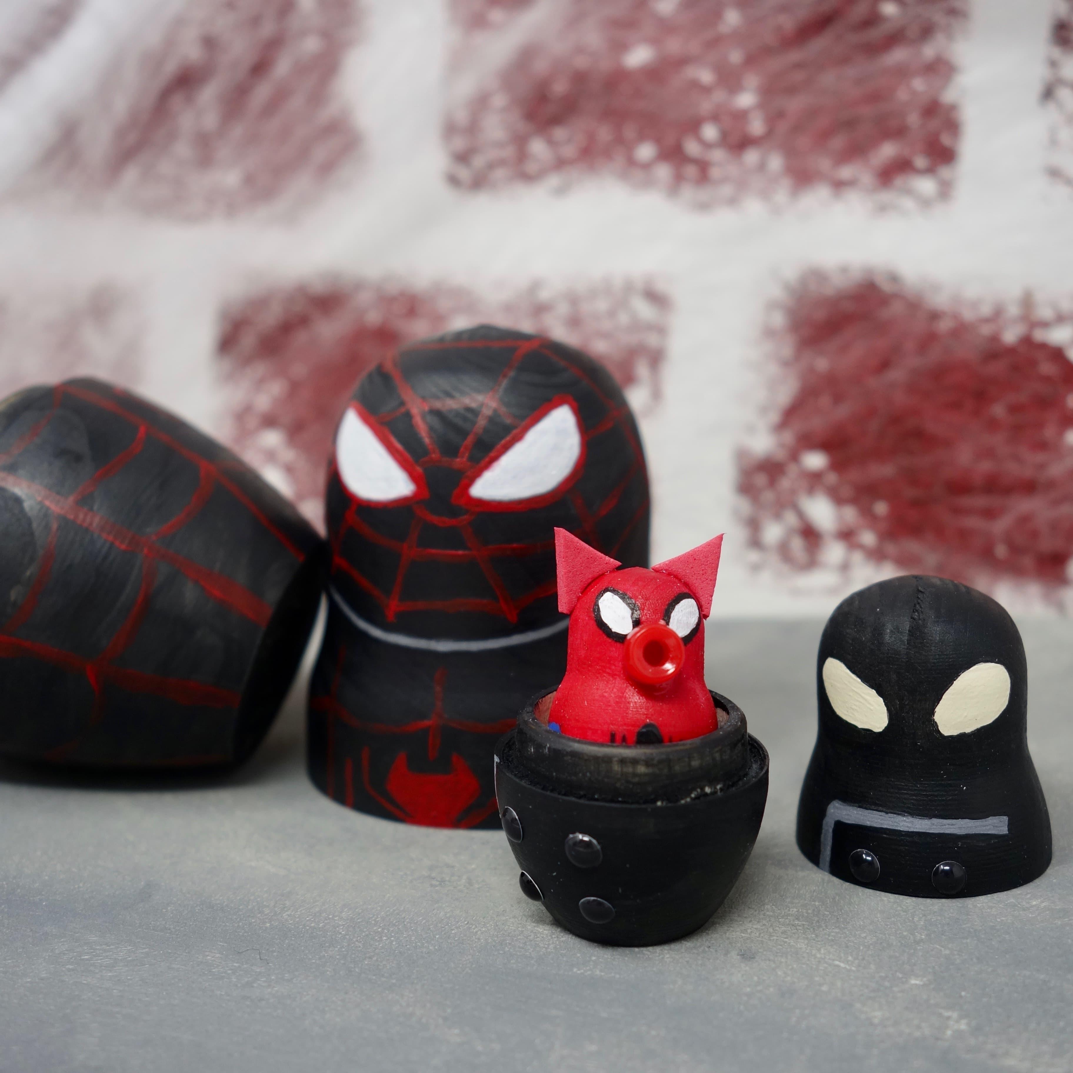 Spider-Geddon Nesting Dolls