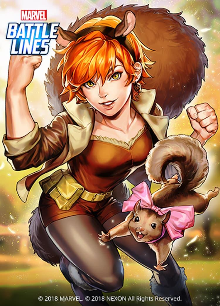 Marvel Battle Lines - Squirrel Girl