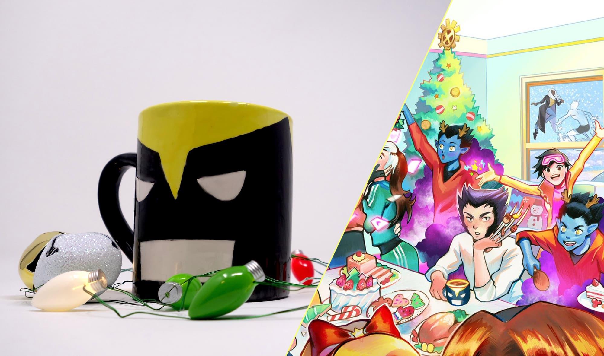 DIY Wolverine Mug Craft by Kelly Knox