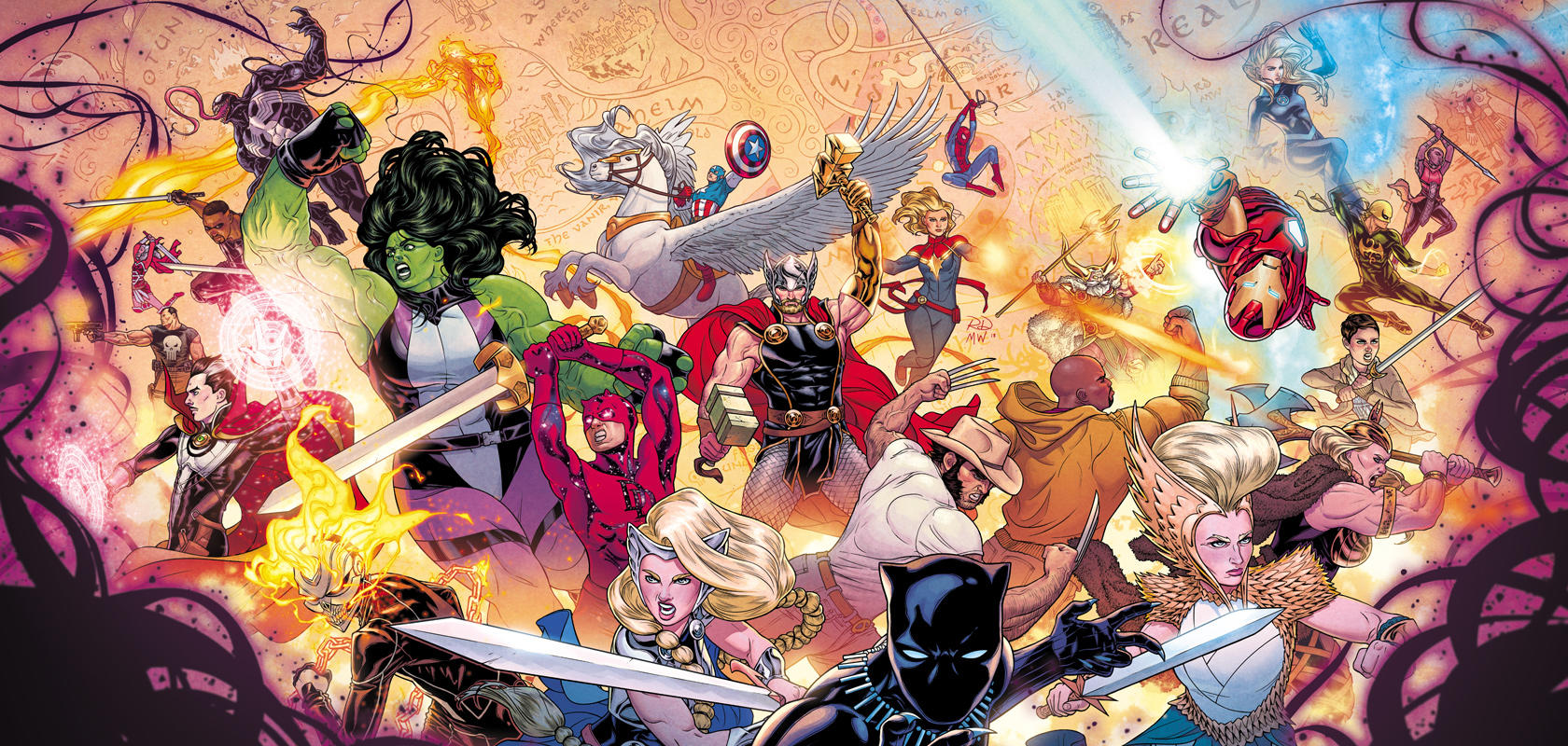 The War Of The Realms Marvel