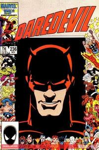 Daredevil #236 cover