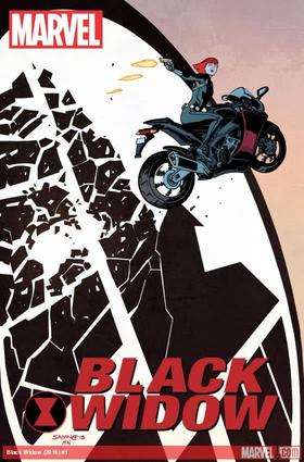Black Widow (2016) #1 cover by Chris Samnee & Matt Wilson