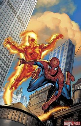 Spider-Man & The Human Torch