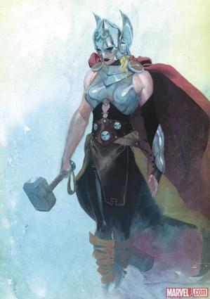Thor (2014) #1 cover by Esad Ribic