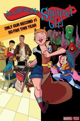 Unbeatable Squirrel Girl (2015) #1 by Erica Henderson