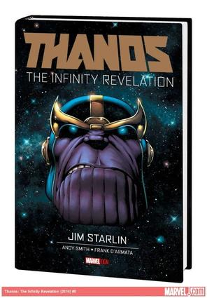 THANOS: THE INFINITY REVELATION OGN-HC (WITH DIGITAL CODE, SDOS)