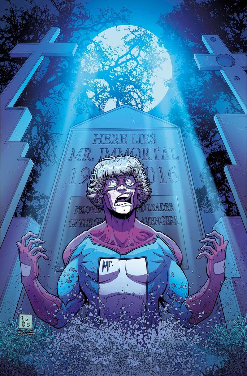 Great Lakes Avengers #3 cover by Will Robson