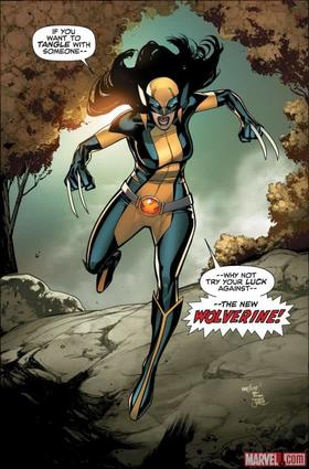 All-New Wolverine by David Marquez