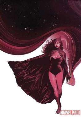 The Scarlet Witch by Travis Charest