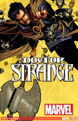 Doctor Strange (2015) #1 cover by Chris Bachalo