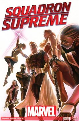 Squadron Supreme (2015) #1 cover by Alex Ross
