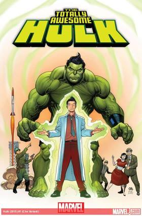 Totally Awesome Hulk #1 variant cover by Frank Cho
