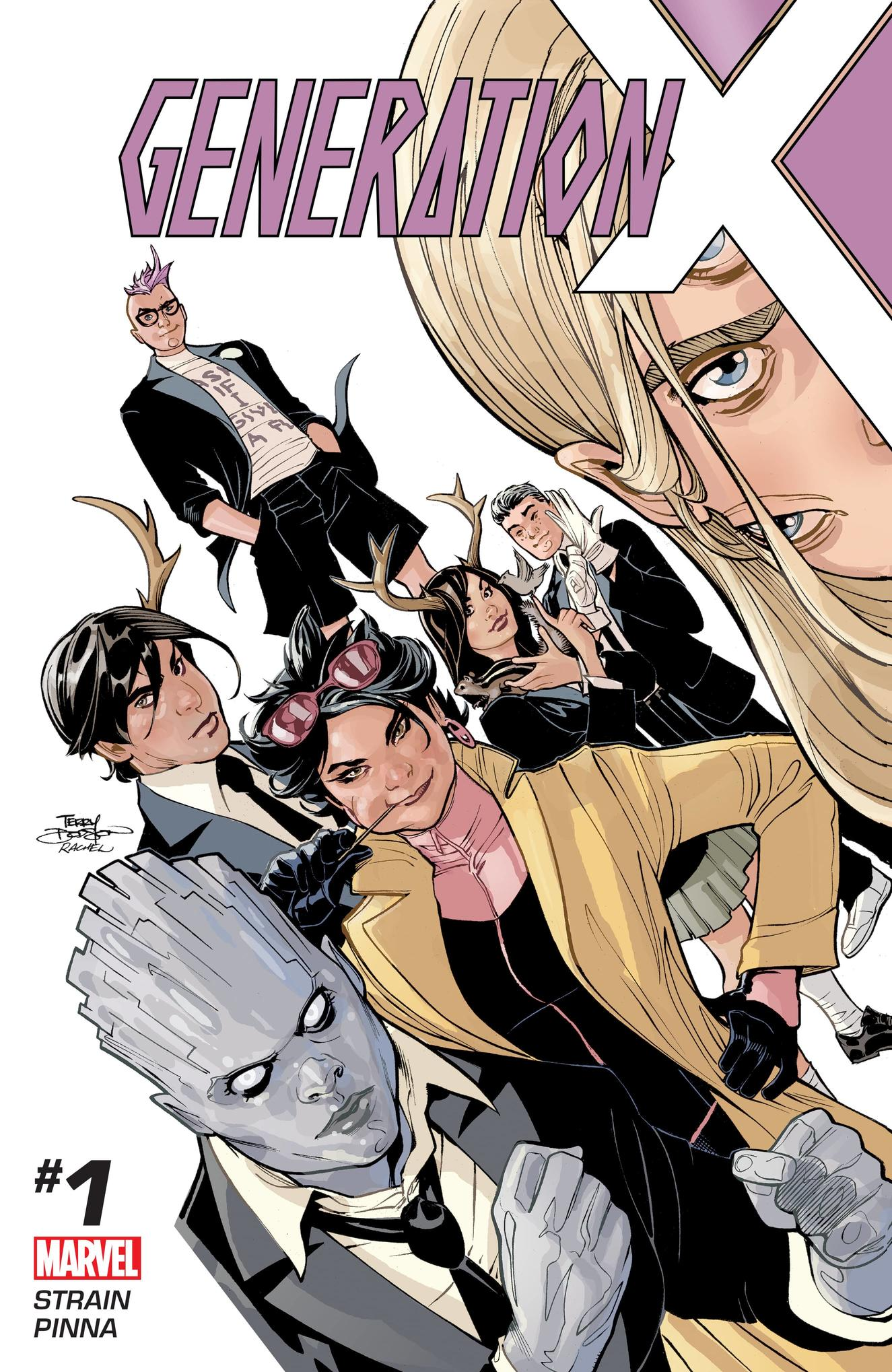 Generation X by Terry Dodson