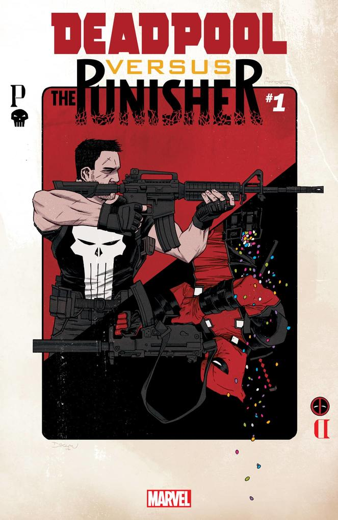 Deadpool Vs. The Punisher #1 cover by Declan Shalvey