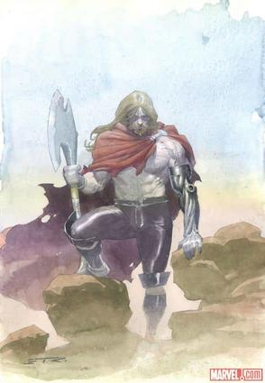 Unworthy Thor by Esad Ribic