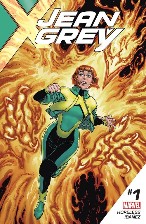 Jean Grey by David Yardin