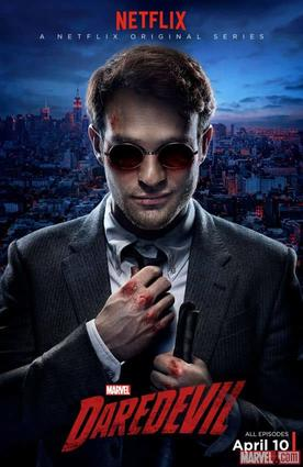 Charlie Cox gets bloodied as Matt Murdock in a new poster for Marvel