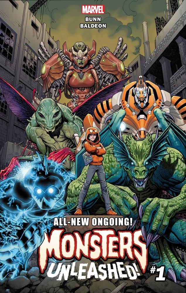 Monsters Unleashed by Art Adams