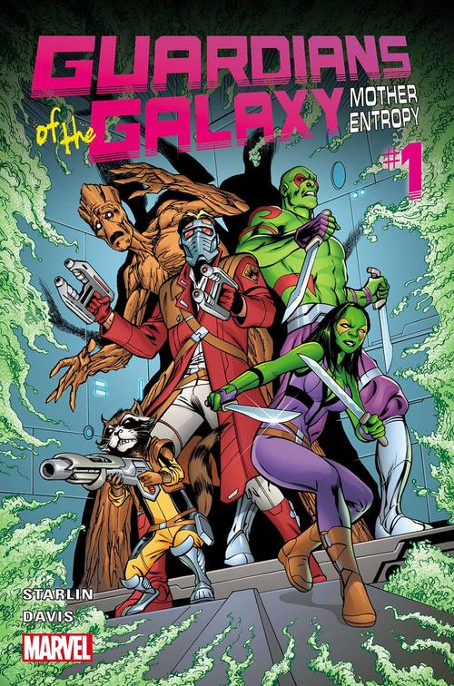 Guardians of the Galaxy: Mother Entropy by Alan Davis