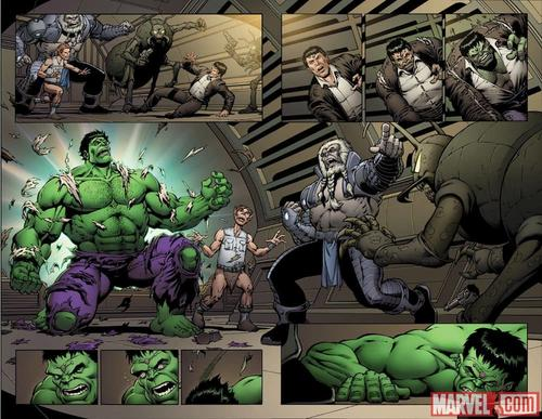 Thanos Vs. Hulk #1 preview art by Jim Starlin