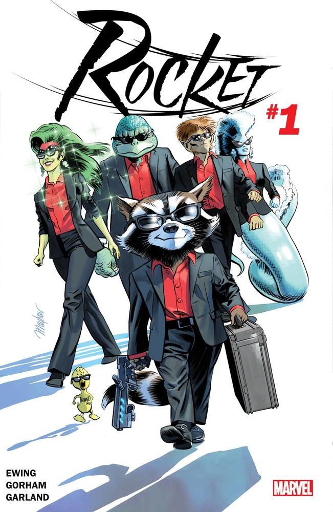 Rocket #1 cover by Mike Mayhew