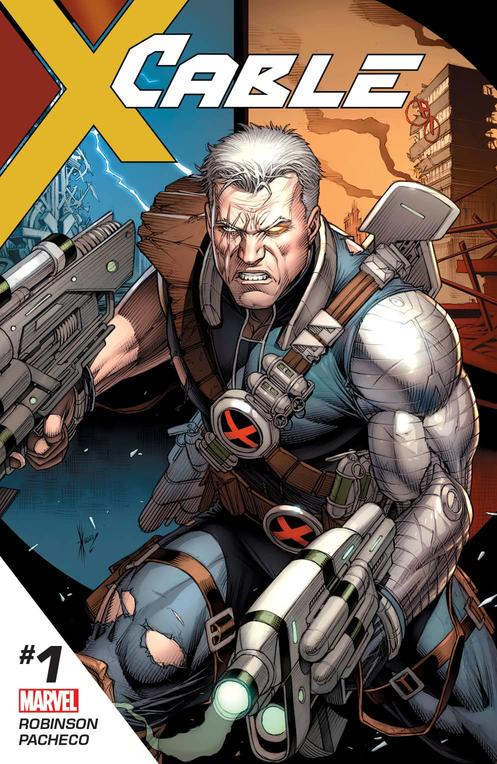 Cable #1 cover art by Dale Keown